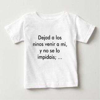 Dejad un venir de ninos de visibilité directe par t-shirt pour bébé