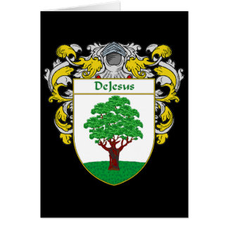 DeJesus Coat of Arms (Mantled) Card