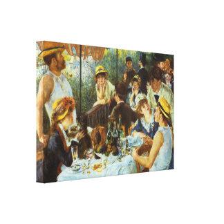 Déjeuner de la partie de canotage par Pierre Impressions Sur Toile
