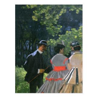 Dejeuner sur L'Herbe, Chailly, 1865 Postcard