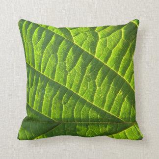 Dekokissen cool green sheet sample