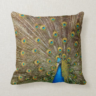 Dekokissen peacock throw pillow