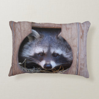 Dekokissen raccoon Racoon photo Jean Louis Glineur Decorative Pillow