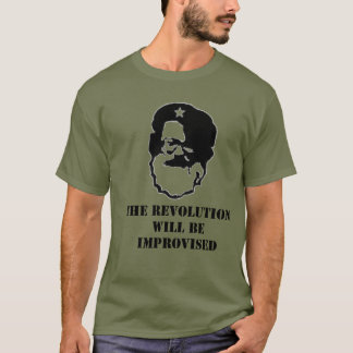 Del Close - The Revolution will be Improvised T-Shirt