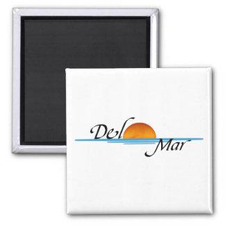 Del Mar Sunset Magnet