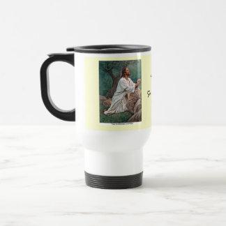 Del_Parson_Prayer_at_Gethsemane_ Travel Mug