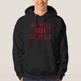Del Valle - Cardinals - High - Del Valle Texas Hoodie