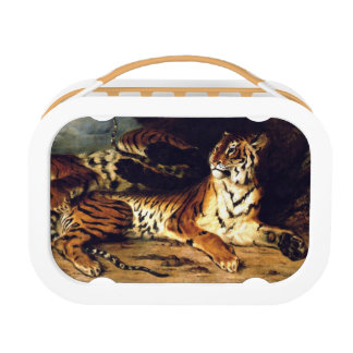 Delacroix Tiger Yubo Lunch Box