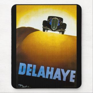 Delahaye - Vintage Advertisement Mousepads