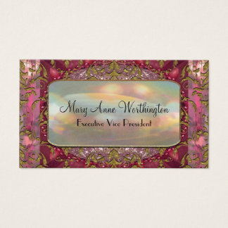 Delancey Petal Elegant  Professional Business Card