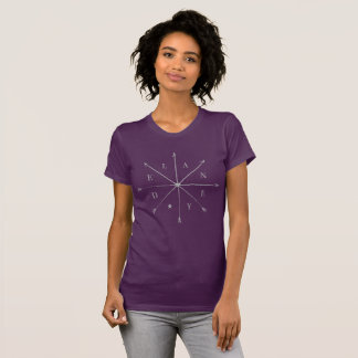 Delaney shirt with moral compass