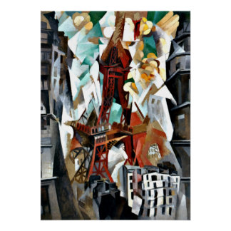 Delaunay - The Red Tower Poster