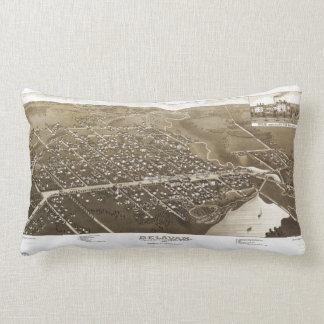 Delavan, Walworth County, Wisconsin (1884) Lumbar Pillow