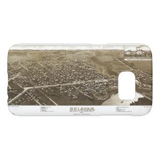 Delavan, Walworth County, Wisconsin (1884) Samsung Galaxy S7 Case