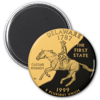 Delaware 2 Inch Round Magnet