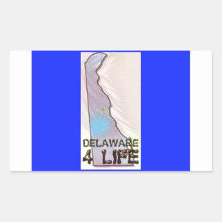 """Delaware 4 Life"" State Map Pride Design"