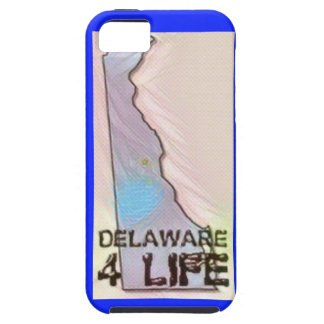 """Delaware 4 Life"" State Map Pride Design Case For The iPhone 5"