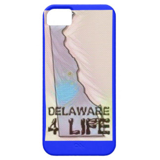 """Delaware 4 Life"" State Map Pride Design iPhone 5 Covers"
