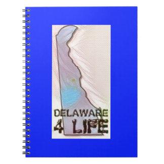 """Delaware 4 Life"" State Map Pride Design Notebook"