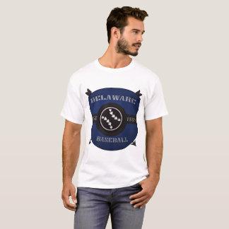 Delaware Baseball Shield Logo T-Shirt