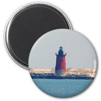 Delaware Breakwater Lighthouse (Lewes, DE) Magnet