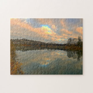 Delaware Canal. Jigsaw Puzzle