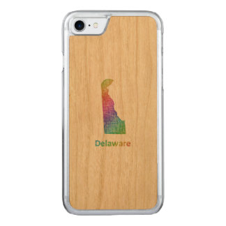 Delaware Carved iPhone 7 Case
