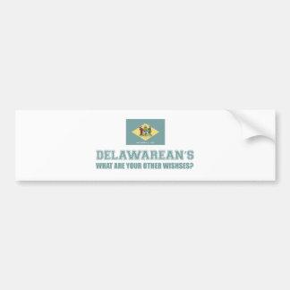 delaware  design bumper sticker