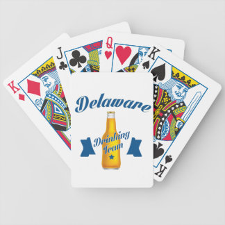 Delaware Drinking team Bicycle Playing Cards