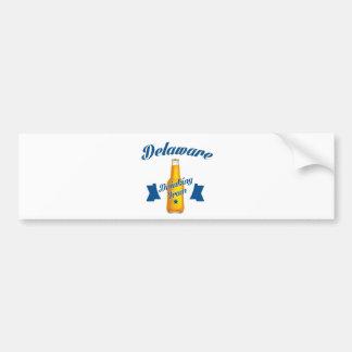 Delaware Drinking team Bumper Sticker