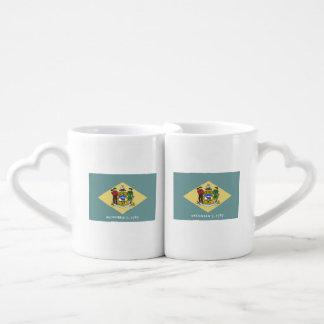 Delaware Flag Coffee Mug Set
