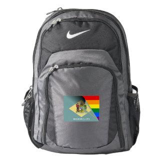 Delaware Flag Gay Pride Rainbow Backpack
