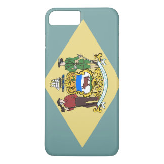 Delaware Flag iPhone 8 Plus/7 Plus Case