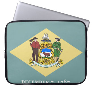 Delaware Flag Laptop Sleeve