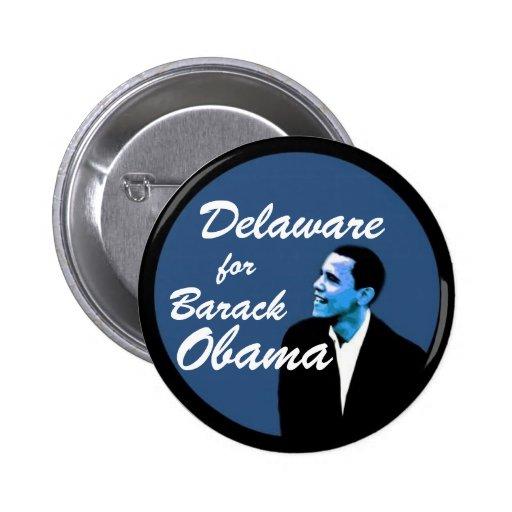 Delaware for Barack Obama Pins