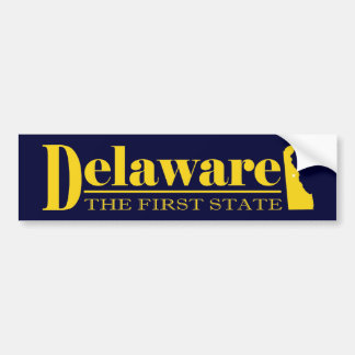 Delaware Gold Bumper Sticker