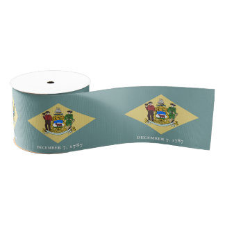 Delaware Grosgrain Ribbon