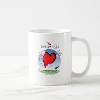 delaware head heart, tony fernandes coffee mug
