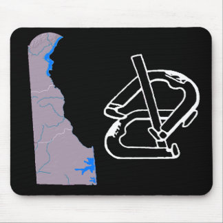 Delaware Horsehoes Mouse Pad