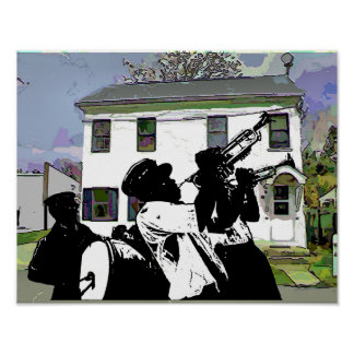 Delaware House Brass Band Poster