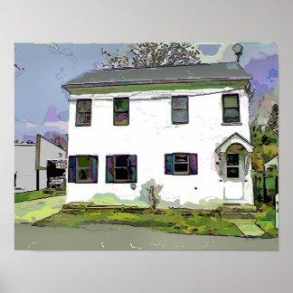 Delaware House Poster