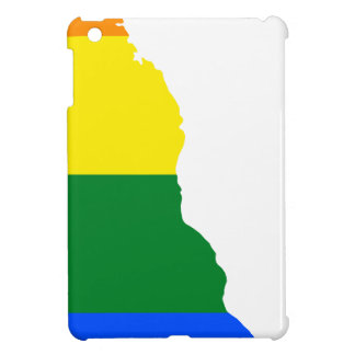 Delaware LGBT Flag Map iPad Mini Covers