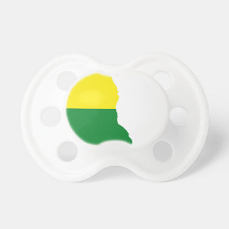 Delaware LGBT Flag Map Pacifier