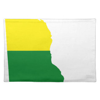 Delaware LGBT Flag Map Placemat