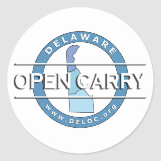 Delaware Open Carry Sticker