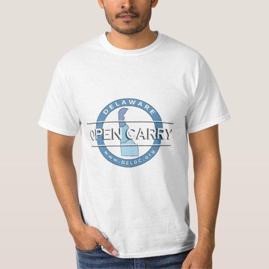Delaware Open Carry T-Shirt (White)