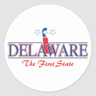 Delaware Patriotic Stickers