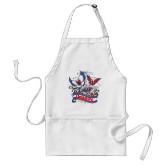 Delaware Patriotism Butterfly Standard Apron
