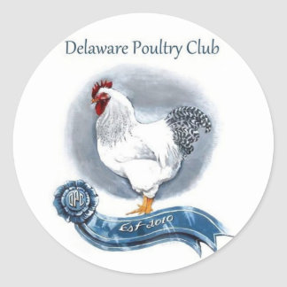 Delaware Poulrry Club Stickers (large)