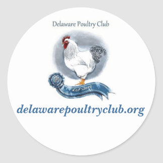 Delaware Poultry Club Stickers (small)